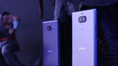 El Sony Xperia 10 y, a la derecha, el Sony Xperia 10 Plus.