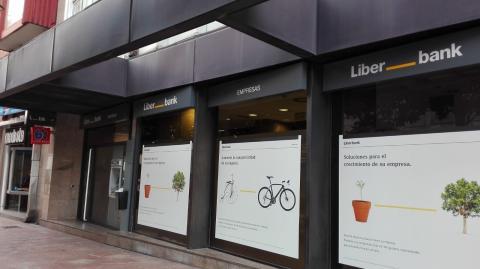 Una oficina de Liberbank.