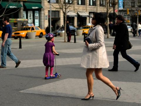 About 30% of New Yorkers end up making six-figure salaries.