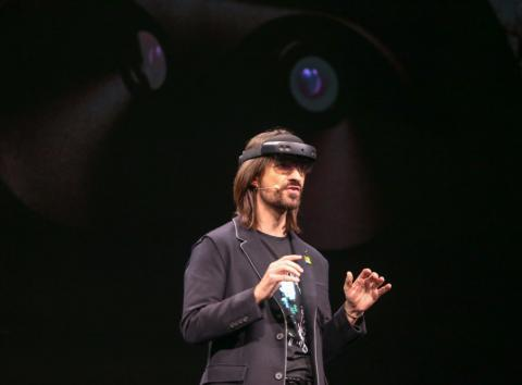 Alex Kipman, creador de las HoloLens de Microsoft.