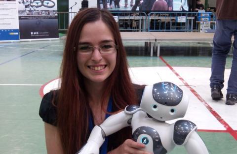 Ana de Prado, ingeniera especializada en machine learning y robótica