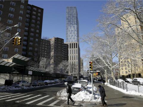 And on top of that, New York renters often have to cough up what's called a broker's fee, which usually amounts to about one month's rent of an apartment up front at lease signing.