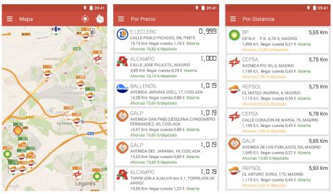 app gasolineras españa