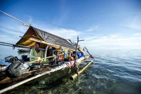 The Bajau are a nomadic Malay people who have lived at sea for centuries, primarily in a tract of ocean by the Philippines, Malaysia, and Indonesia.
