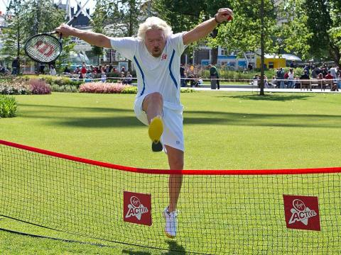 Billionaire Richard Branson also exercises before breakfast and is a fan of playing tennis. He stays active by kite-surfing, swimming, and cycling.