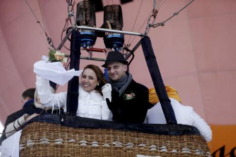 Las fotos de sus bodas son increíbles.