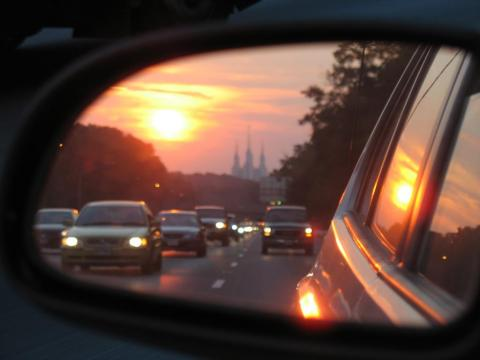 'In the business world, the rear-view mirror is always clearer than the windshield'
