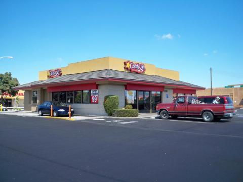 El restaurante de comida rápida Carl's Jr.