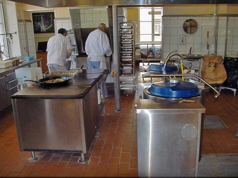 Cocina Prisión de Bastoy