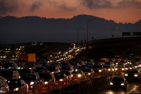 The congestion costs each commuter nearly $2,300 a year.