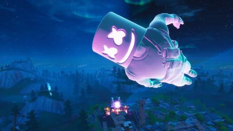 10 millones de jugadores se conectaron al concierto virtual de Marshmello en Fortnite.