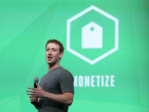 By the end of 2014, Zuckerberg's net worth had shot up to $30 billion, and would steadily increase over the next three years.