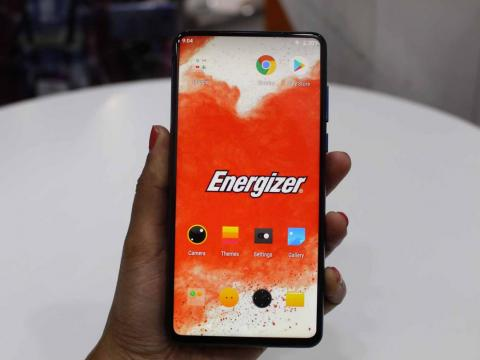 Energizer's phone with a 6.2-inch display seems harmless enough at first.