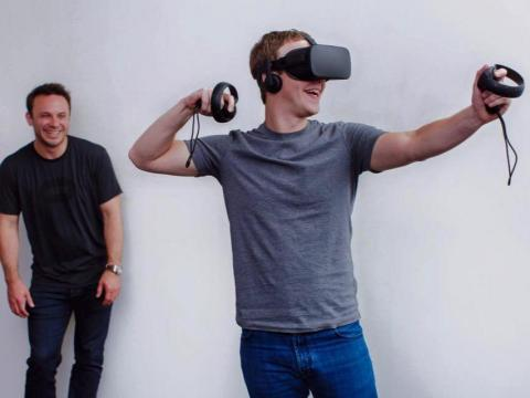 Facebook also acquired the VR company Oculus in March 2014 for $2 billion.