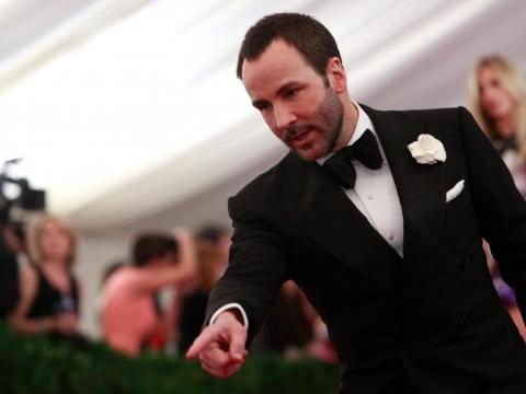 Fashion designer Tom Ford attributes his success not to talent but to his energy: He's awake 21 hours a day, getting only three hours' sleep.