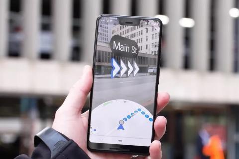 Algunos usuarios ya pueden probar la Realidad Aumentada en Google Maps