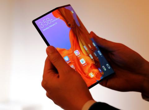 Huawei Mate X, el móvil plegable con 5G