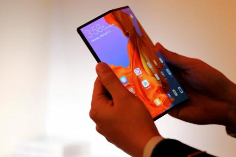 The Huawei Mate X.