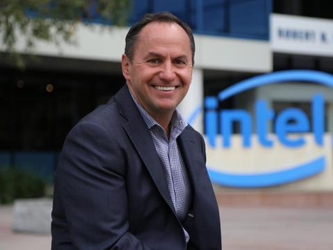 Intel CEO Bob Swan.