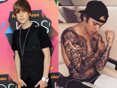 Mucho ha cambiado desde su adolescencia.