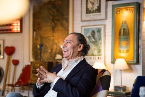José Azulay, presidente y director creativo de UNOde50