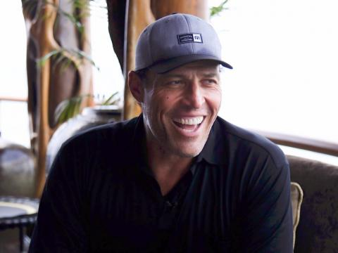 Likewise, life coach Tony Robbins typically gets about three to five hours of sleep.