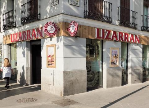 Un local de Lizarrán