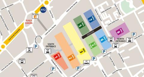 Mapa MWC