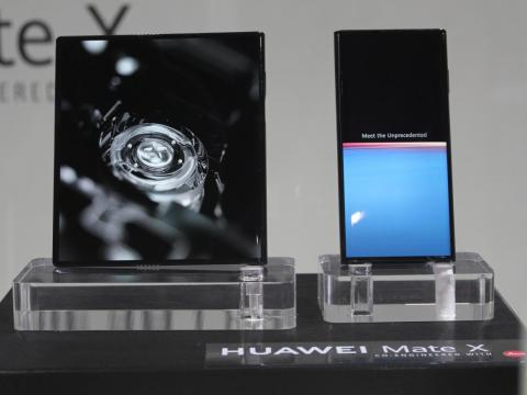 The Mate X runs on Huawei's Kirin 980 chip, and comes with 8GB of RAM and 512GB of storage.