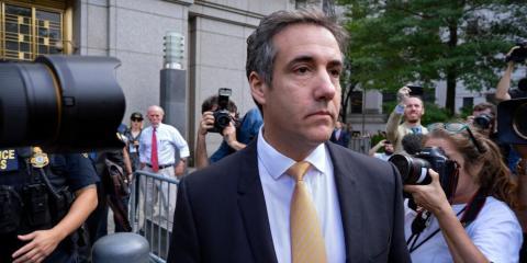 Michael Cohen, exabogado de Donald Trump