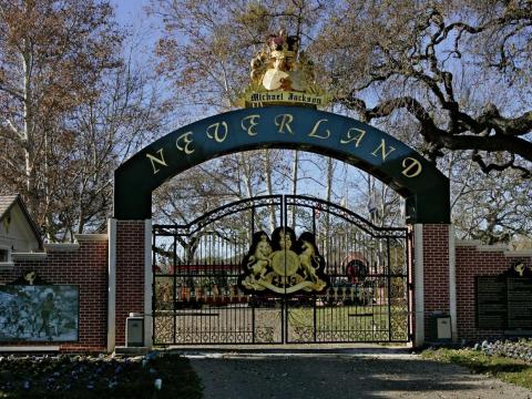 Neverland Ranch.