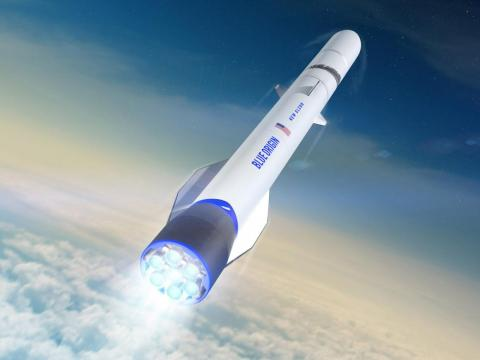 By no coincidence, that's just under the maximum size Blue Origin expects to fit in the nosecone of its upcoming New Glenn rocket system.