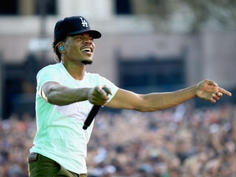 Chance The Rapper fue honrado por Do Something en 2017.