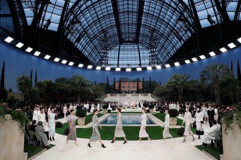 Desfile de moda Chanel