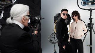 Pasión de Lagerfeld por la fotografía