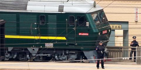 El tren blindado de Kim Jong-Un.