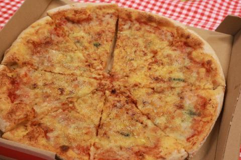 Pizza Cuatro Quesos de Telepizza