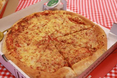 Pizza de Seis Quesos de Papa John's