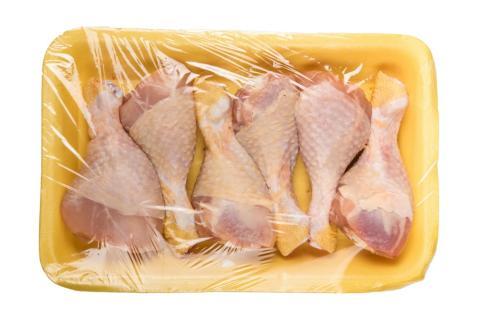 Bandeja pollo supermercado