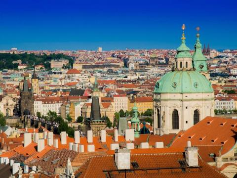 #11: Prague, Czech Republic, features some of the most iconic buildings in the world, including Prague Castle and St. Vitus Cathedral.
