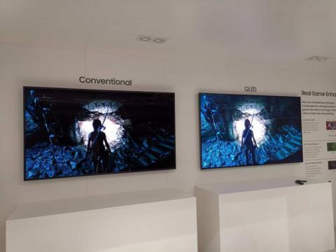 Samsung QLED vs TV convencional