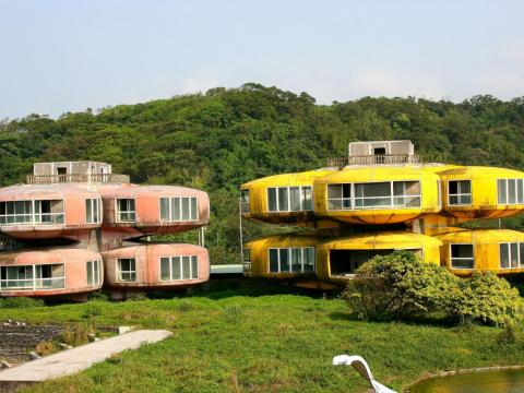 The Sanzhi Pod City — built in 1978 — was meant to be a seaside resort for the US military in Taiwan.