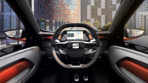 Interior del Seat Minimó