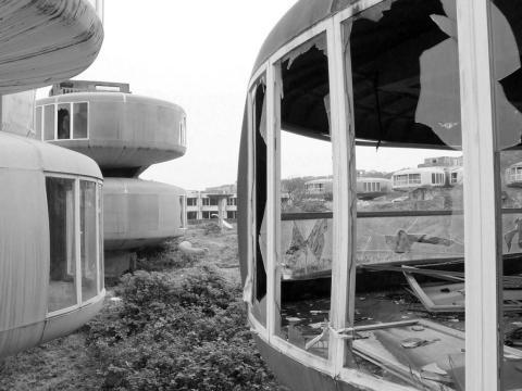 Abandoned pods.