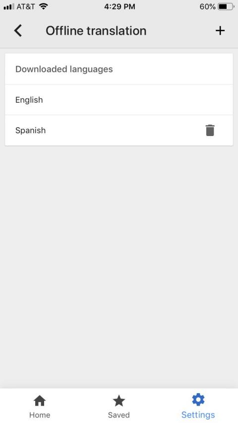 "In Settings, find and delete your downloaded languages under ""Offline translation."""