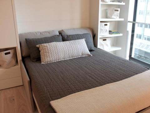 Overall, the micro-apartments at Carmel Place are newer than what you would normally find in the hunt for an apartment rental, micro or otherwise, in New York City.