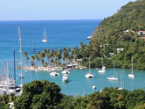 St. Lucía, Caribe
