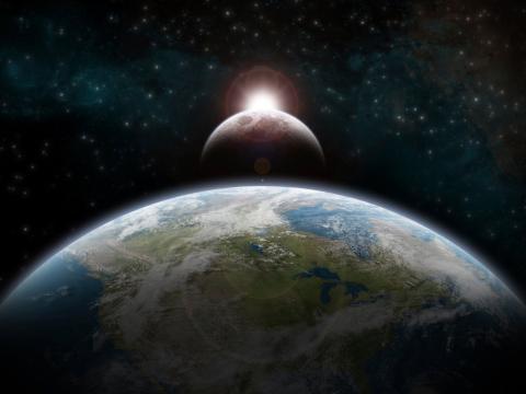 (RE) Tierra y Luna
