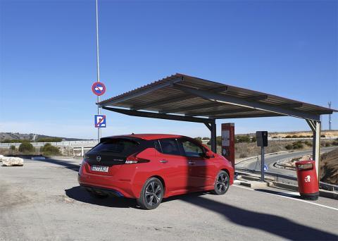 Viaje en coche eléctrico