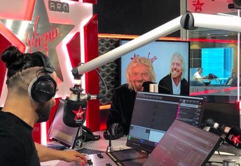 Richard Branson de Virgin.